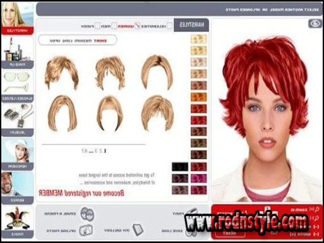 Test Hairstyles On My Face Free 8 | Haircuts Images