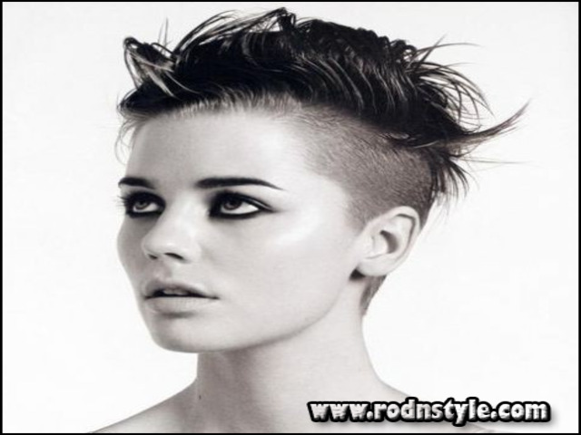 Very Short Shaved Womens Haircuts 11