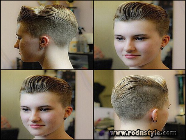 Very Short Shaved Womens Haircuts 6