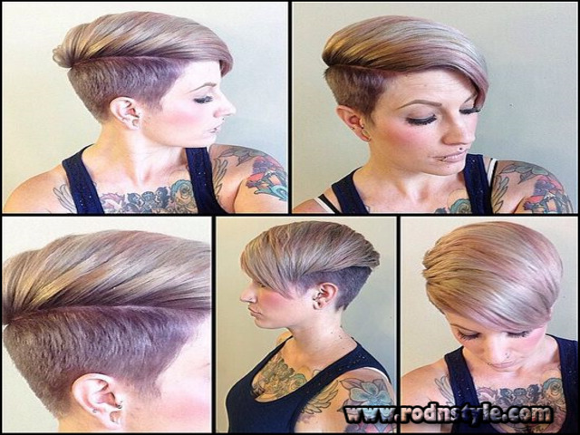 Very Short Shaved Womens Haircuts 9