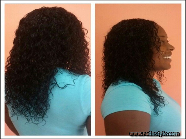 Wet And Wavy Sew In Hairstyles Pictures 7