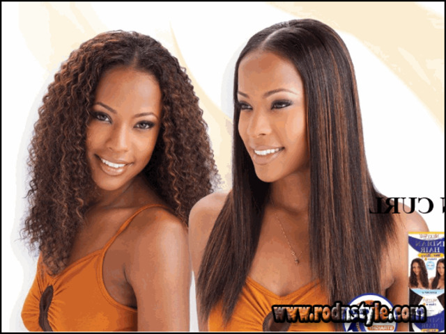 Wet And Wavy Weave Hairstyles 5