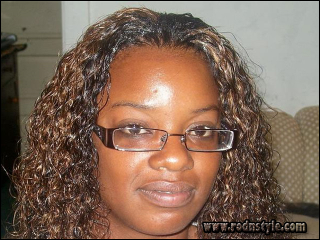 Wet And Wavy Weave Hairstyles Photo Gallery 5