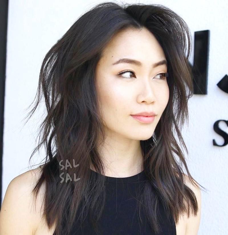 Asian-Haircut-Medium-Short-Layered-Men Asian Haircut Medium  Short Layered (Men)