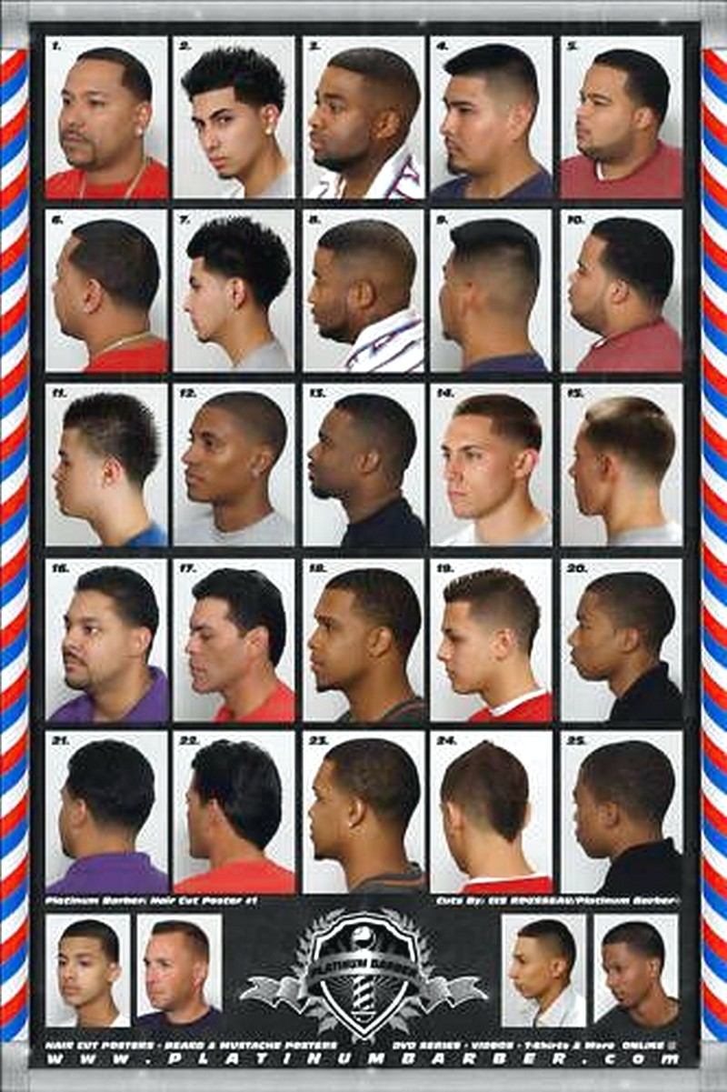 Black-MenS-Haircut-Style-Book Black Men'S Haircut Style Book