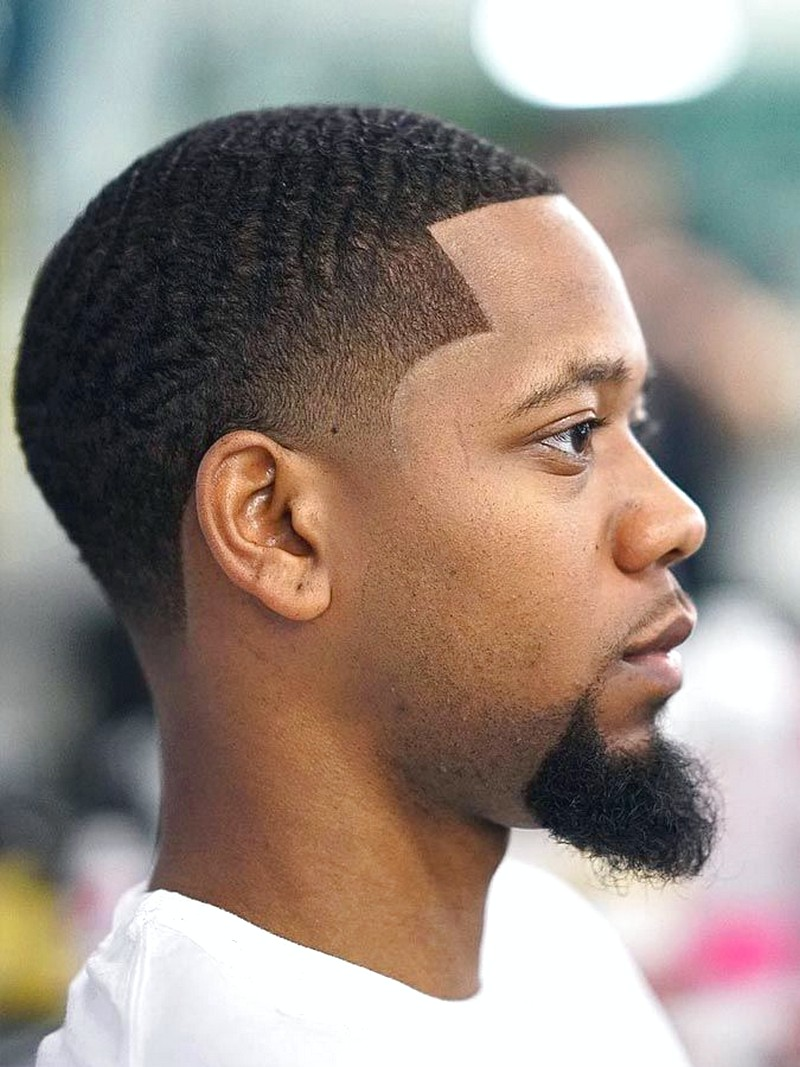 Black-MenS-Line-Up-Hairstyle Black Men'S Line Up Hairstyle