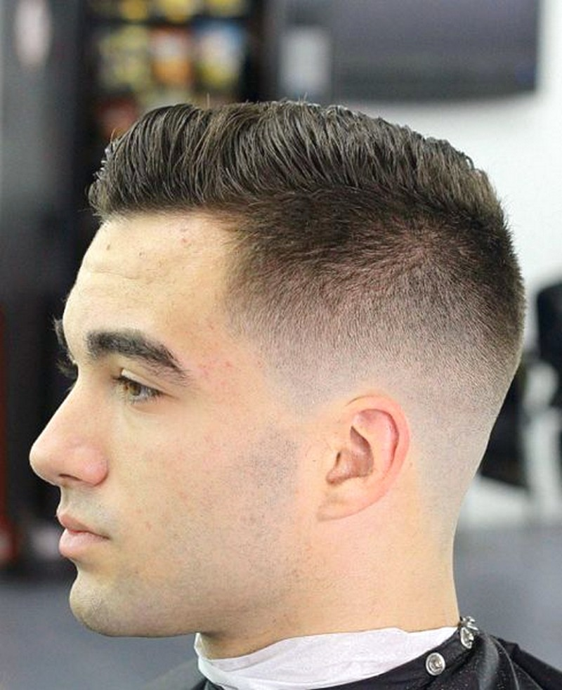 Blended-Short-Cut-MenS-Hairstyle Blended Short Cut Men'S Hairstyle