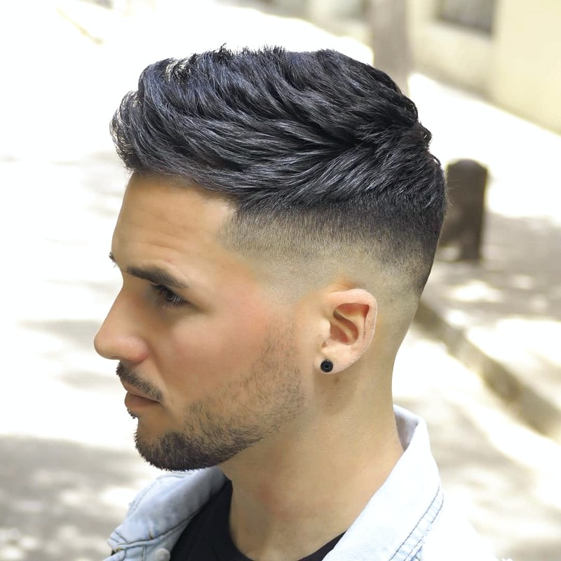 Fade-Undercut-MenS-Hairstyle Fade Undercut Men'S Hairstyle