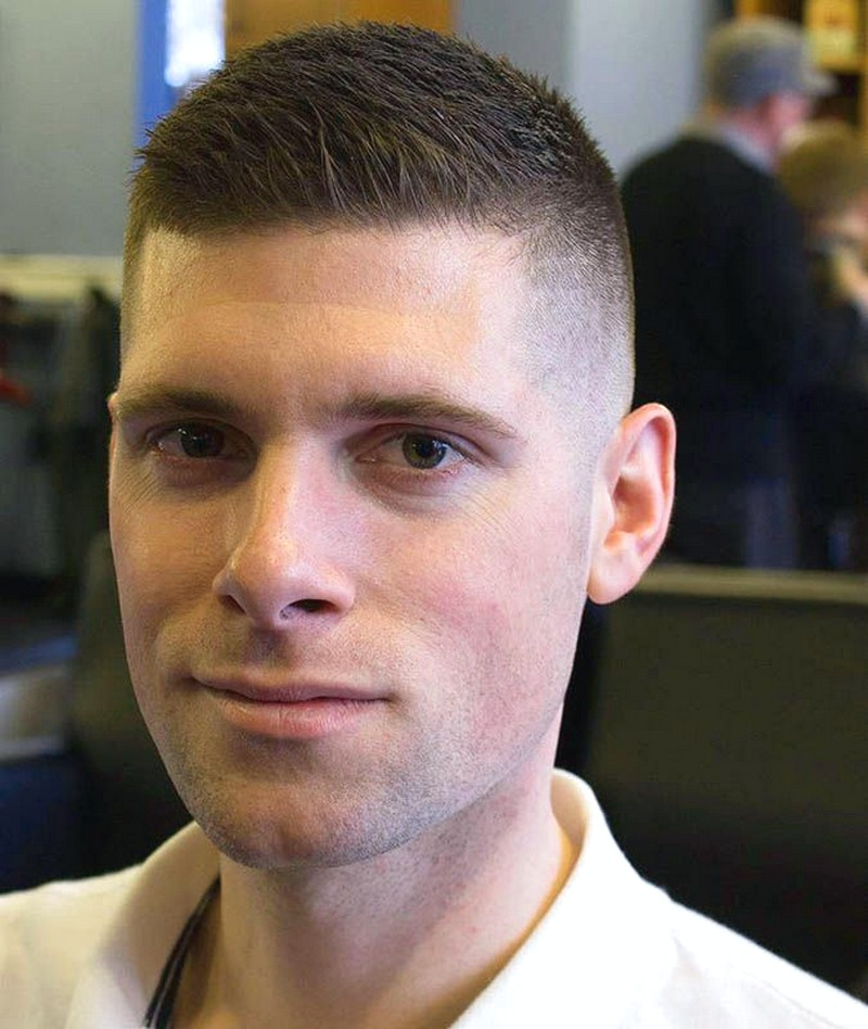 High-And-Tight-MenS-Hairstyle High And Tight Men'S Hairstyle