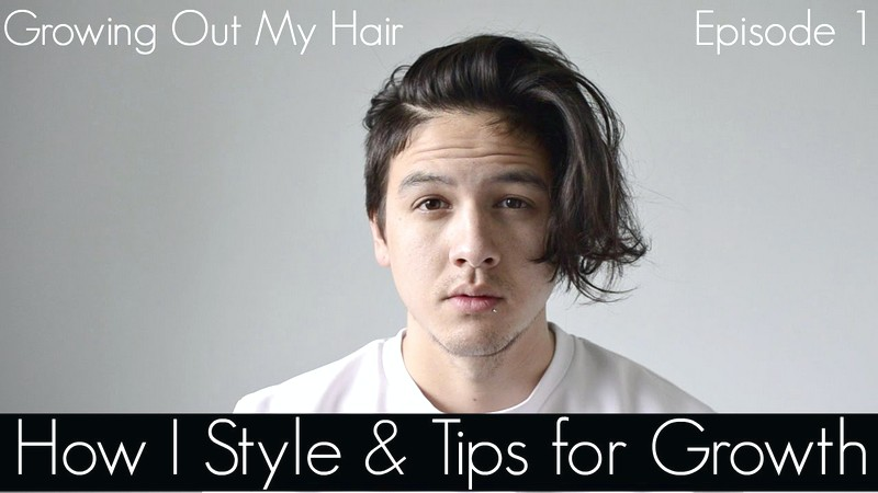 How-To-Style-MenS-Hair-While-Growing-It-Long How To Style Men'S Hair While Growing It Long