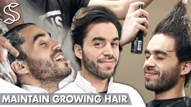 How-To-Style-MenS-Hair-While-Growing-It-Out How To Style Men'S Hair While Growing It Out
