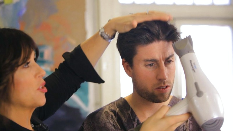 How-To-Style-MenS-Hair-With-A-Blow-Dryer How To Style Men'S Hair With A Blow Dryer