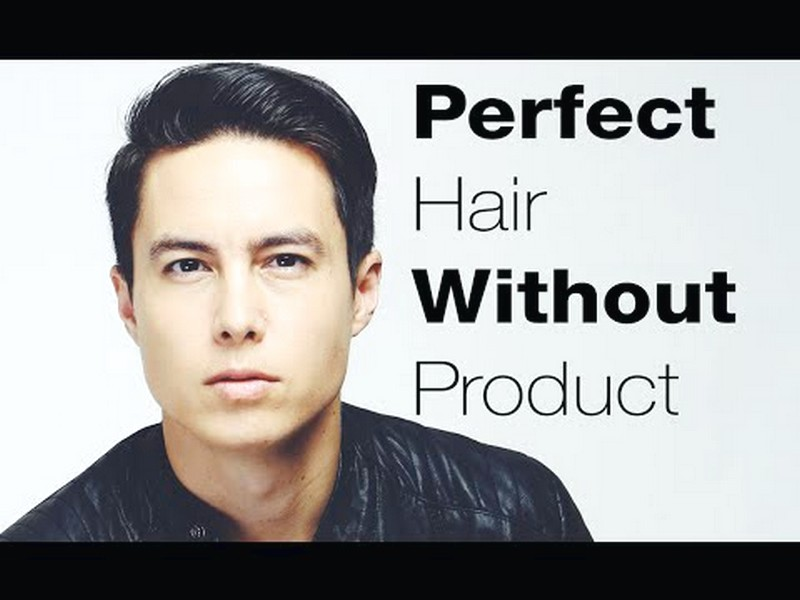 How-To-Style-MenS-Hair-Without-Products How To Style Men'S Hair Without Products