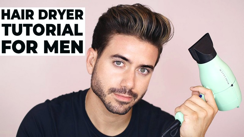 How-To-Use-A-Blow-Dryer-To-Style-MenS-Hair How To Use A Blow Dryer To Style Men'S Hair