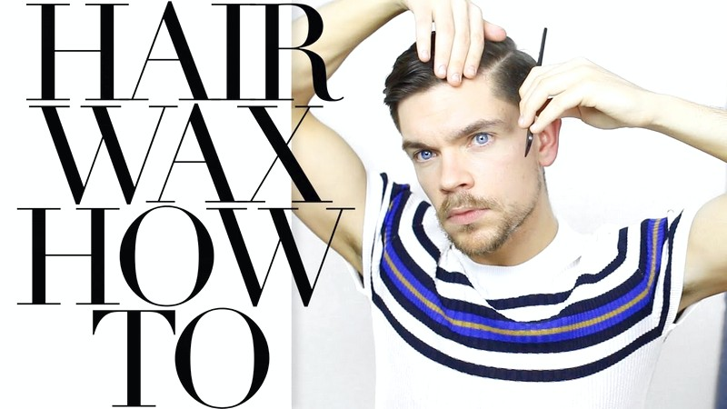 How-To-Use-Wax-To-Style-MenS-Hair How To Use Wax To Style Men'S Hair