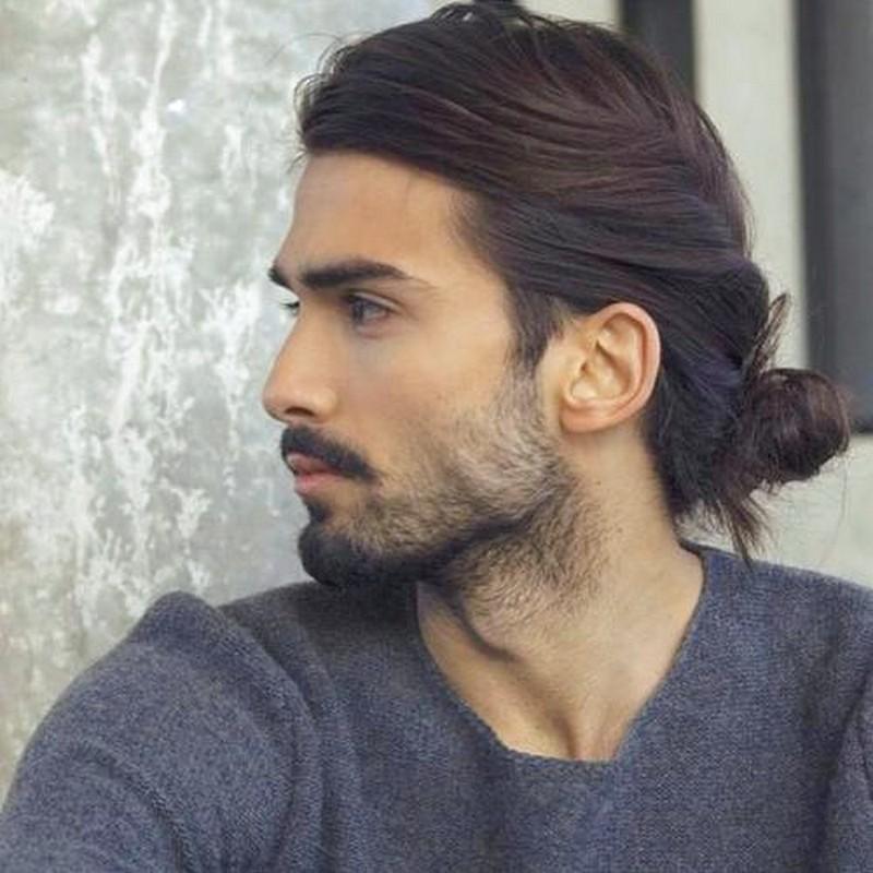 Man-Long-Hair-Hairstyle Man Long Hair Hairstyle