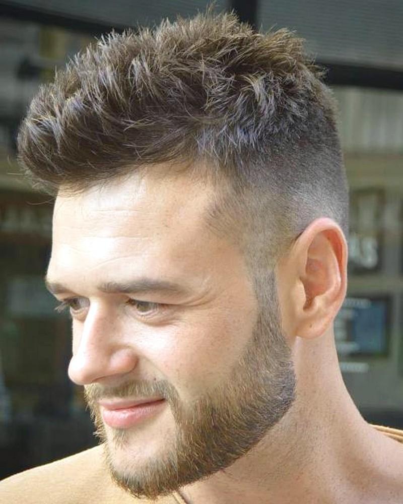 Man-Short-Spiky-Hairstyle Man Short Spiky Hairstyle