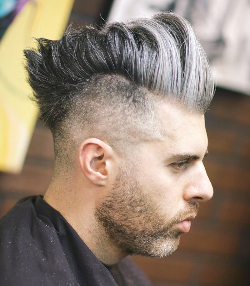 Medium-Fade-MenS-Haircut Medium Fade Men'S Haircut