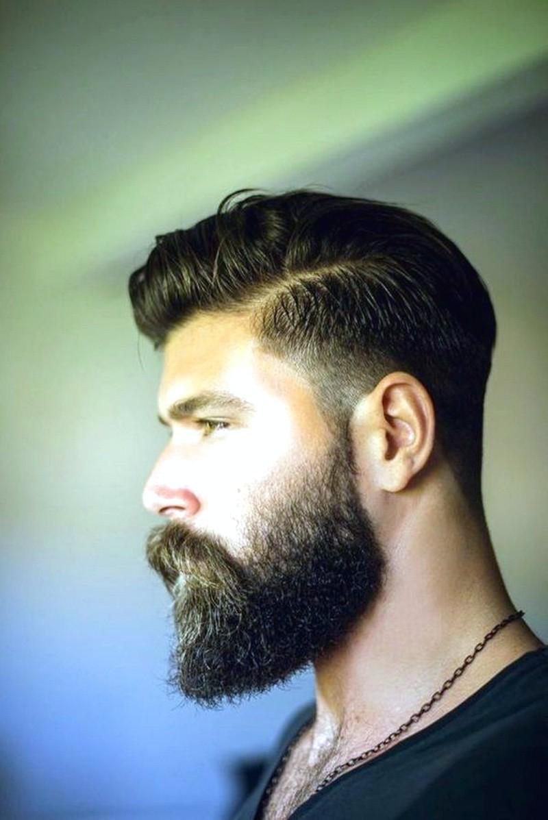 MenS-Hair-And-Beard-Style Men'S Hair And Beard Style
