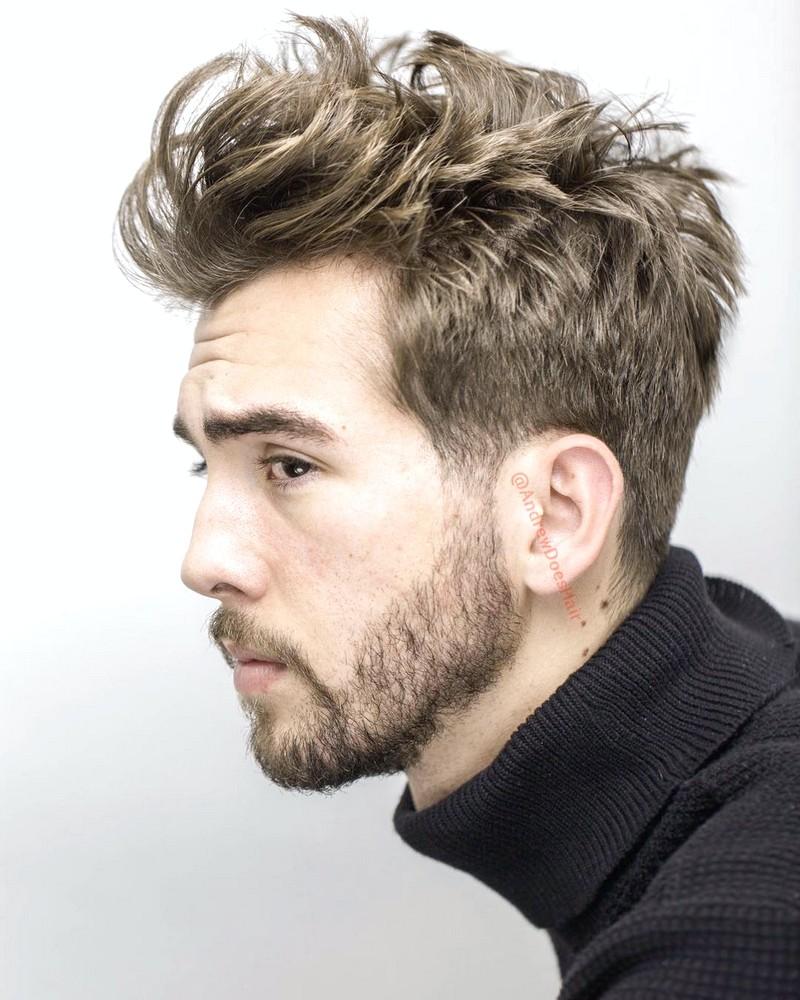 MenS-Haircut-Medium-And-Messy Men'S Haircut Medium And Messy