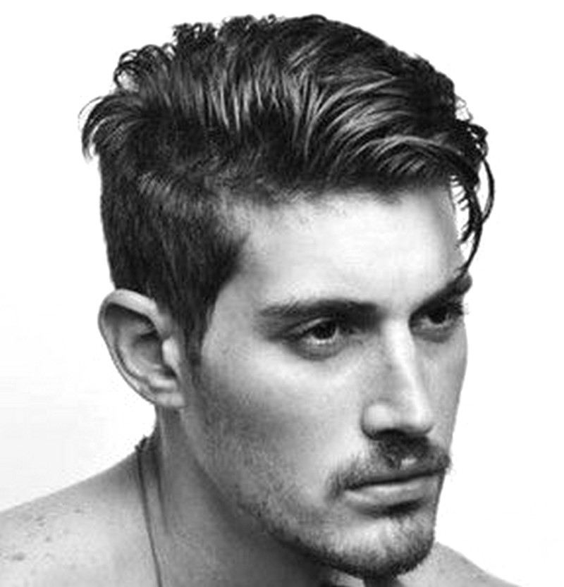MenS-Haircut-Short-On-The-Sides-Long-On-Top Men'S Haircut Short On The Sides Long On Top