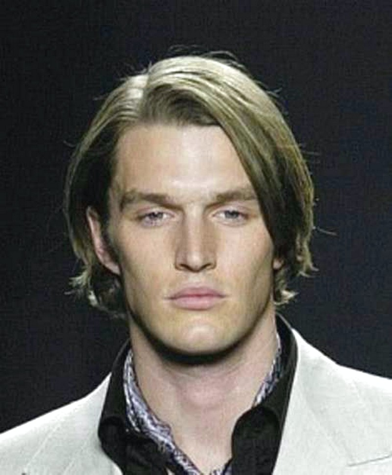 MenS-Hairstyle-Long-Straight-Hair Men'S Hairstyle Long Straight Hair