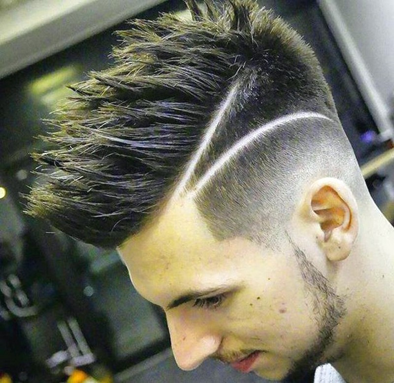 MenS-Hairstyle-Side-Line Men'S Hairstyle Side Line