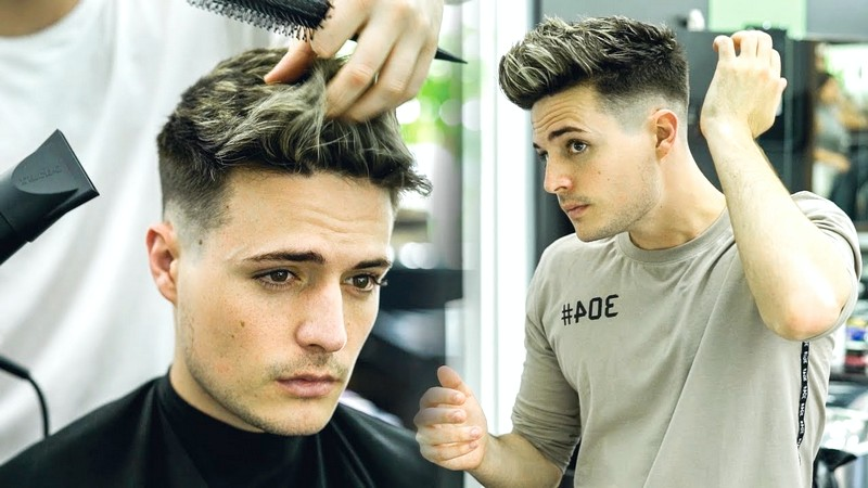 MenS-Quiff-Hairstyle-Youtube Men'S Quiff Hairstyle Youtube