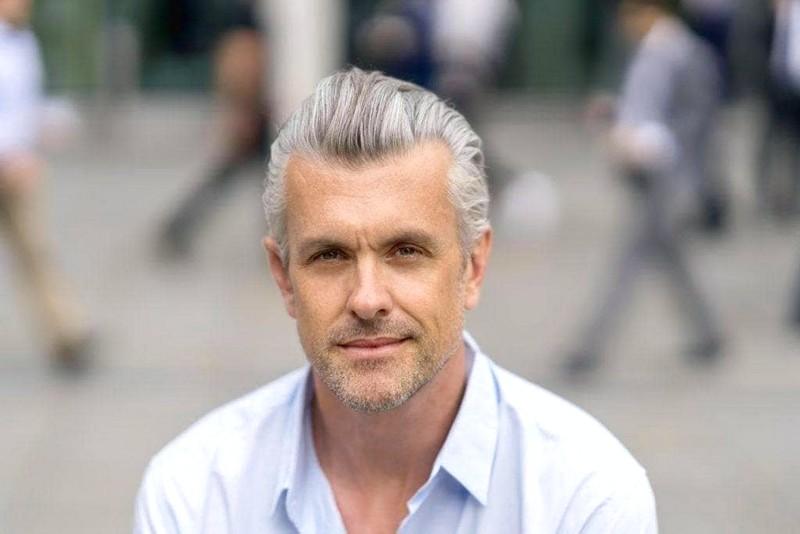MenS-Short-Gray-Hairstyles Men'S Short Gray Hairstyles