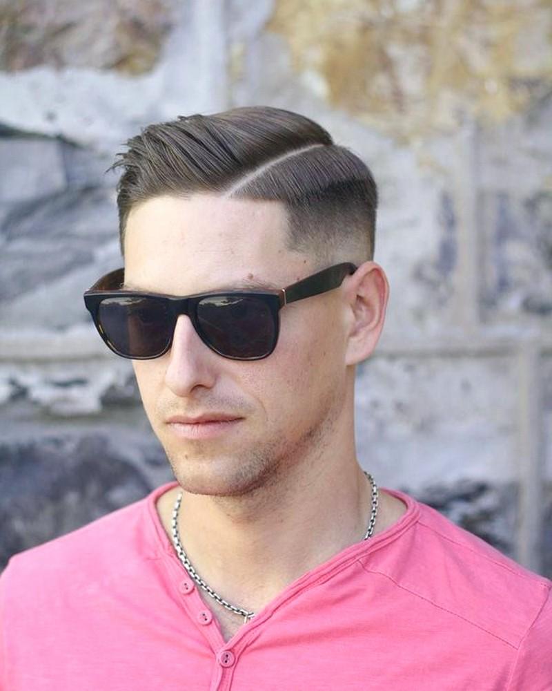 MenS-Side-Part-Haircut-Fade Men'S Side Part Haircut Fade