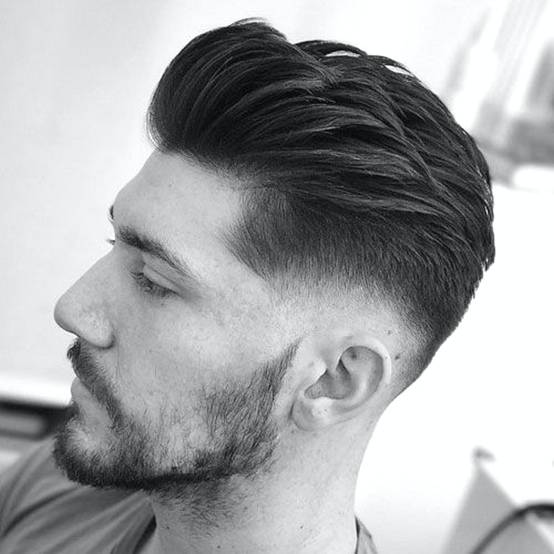 MenS-Side-Quiff-Hairstyle Men'S Side Quiff Hairstyle