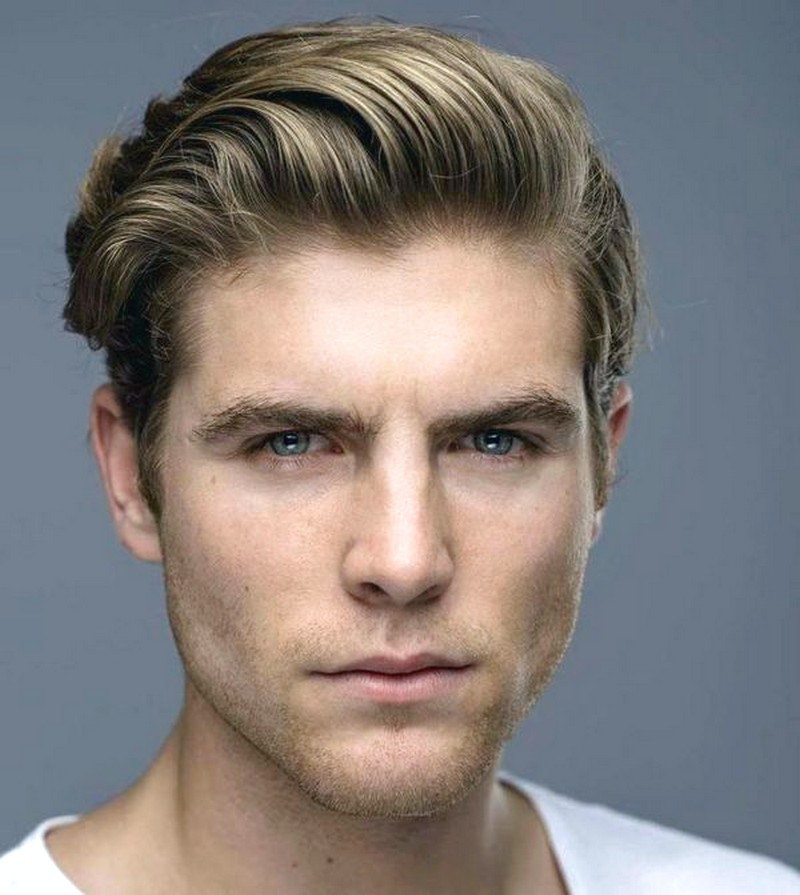 MenS-Tousled-Hairstyles-With-Side-Parting Men'S Tousled Hairstyles With Side Parting