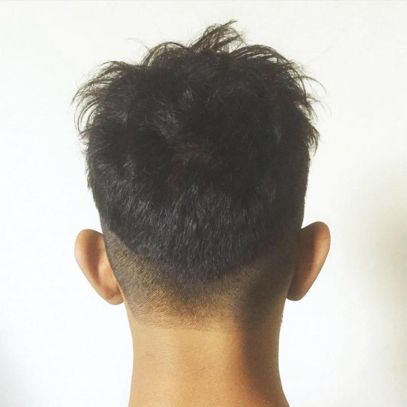 MenS-V-Cut-Hairstyle-Back Men'S V Cut Hairstyle Back