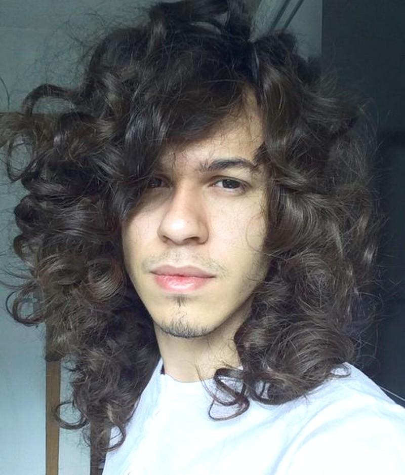 MenS-Wavy-Hairstyle-Long Men'S Wavy Hairstyle Long