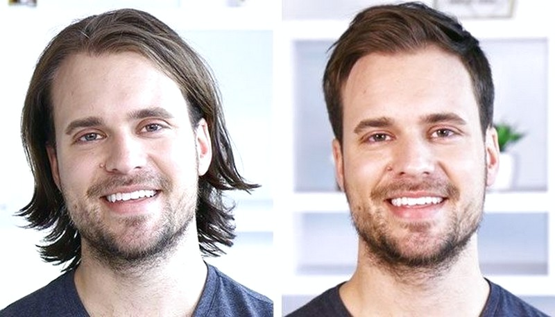 Mens-Hair-Short-Vs-Long Mens Hair Short Vs Long