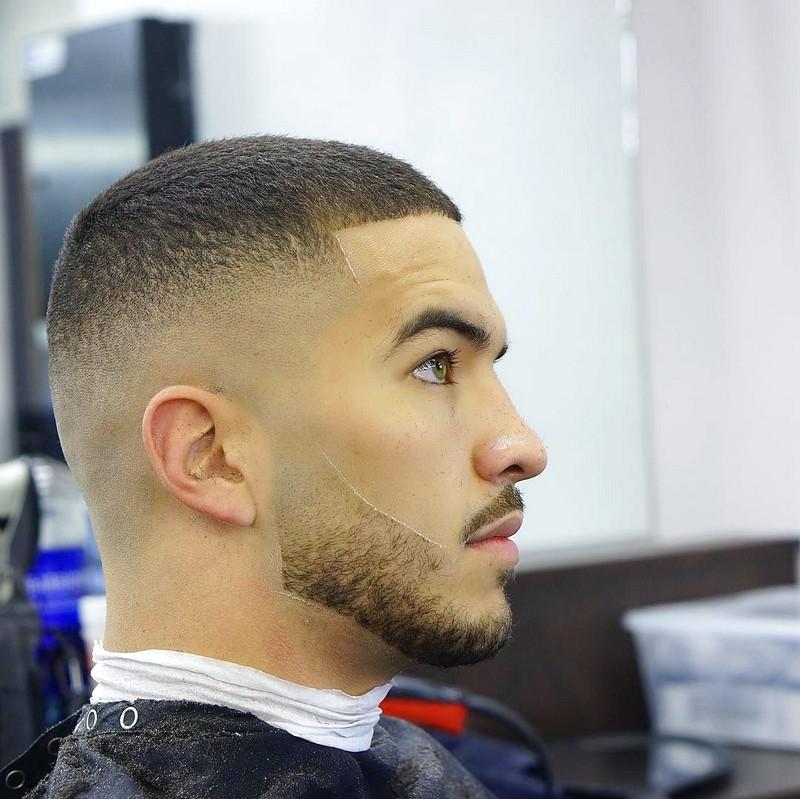 Mens-Haircut-Fade-Short-On-Top Mens Haircut Fade Short On Top