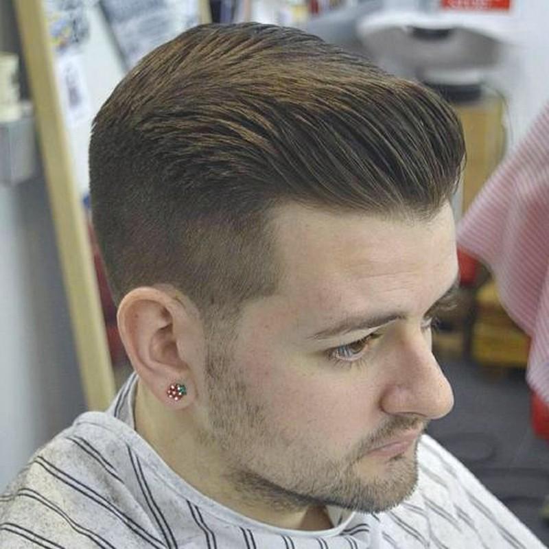 Mens-Haircut-Short-Pompadour Mens Haircut Short Pompadour
