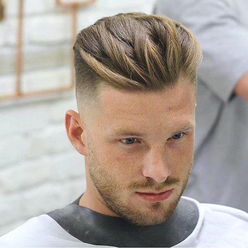 Mens-Haircuts-Short-Sides-Medium-Top-Straight-Hair Mens Haircuts Short Sides Medium Top Straight Hair