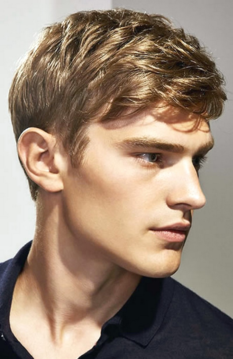 Mens-Hairstyle-Side-Fringe Mens Hairstyle Side Fringe