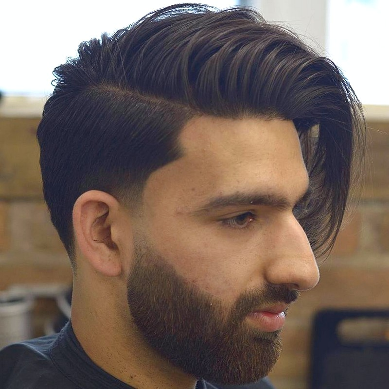 Mens-Hairstyles-Short-On-The-Sides Mens Hairstyles Short On The Sides