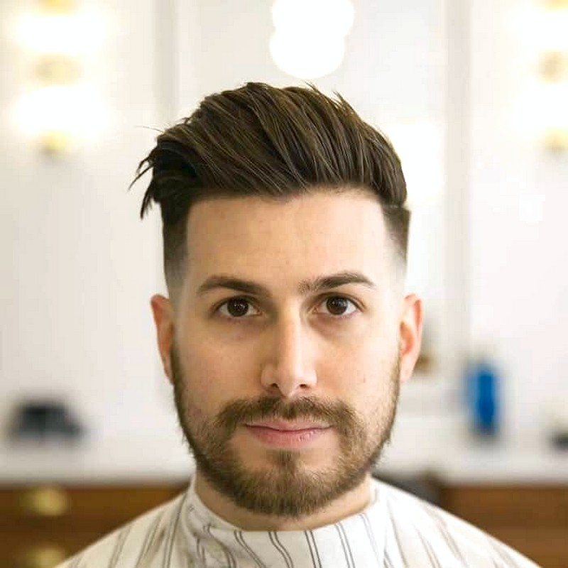 Mens-Round-Face-Hairstyle-2019 Mens Round Face Hairstyle 2019