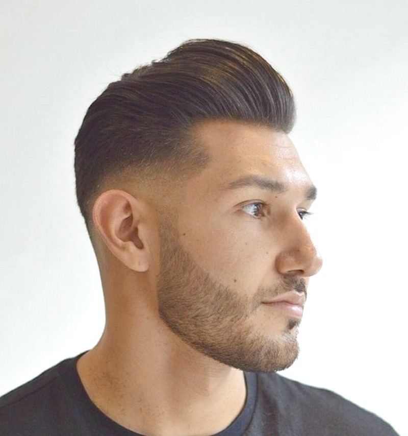 Mens-Short-Pompadour-Haircut Mens Short Pompadour Haircut