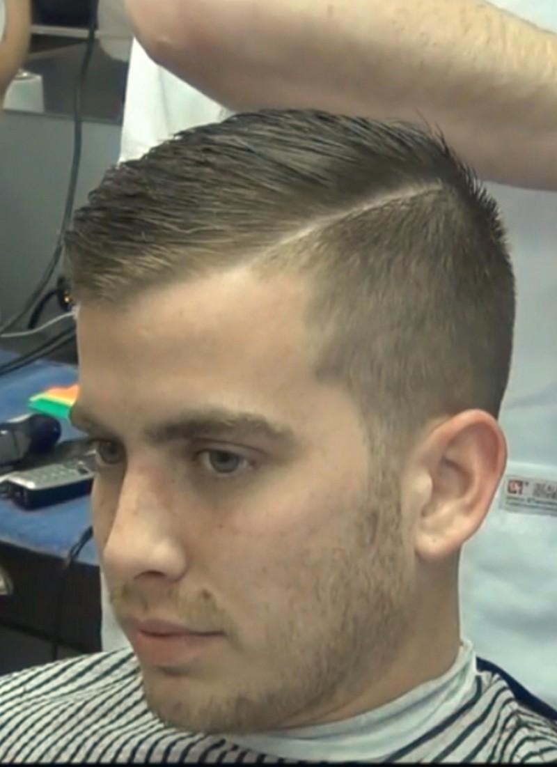Mens-Short-Side-Part-Haircut Mens Short Side Part Haircut