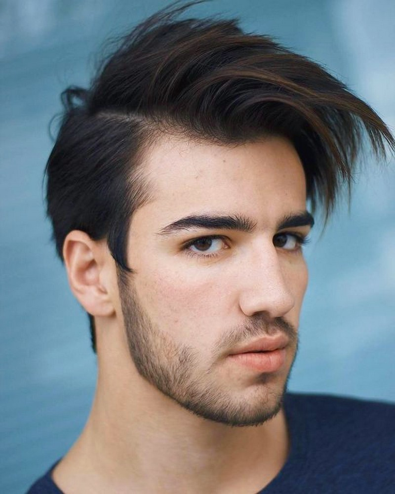 Messy-Side-Part-MenS-Hairstyle Messy Side Part Men'S Hairstyle