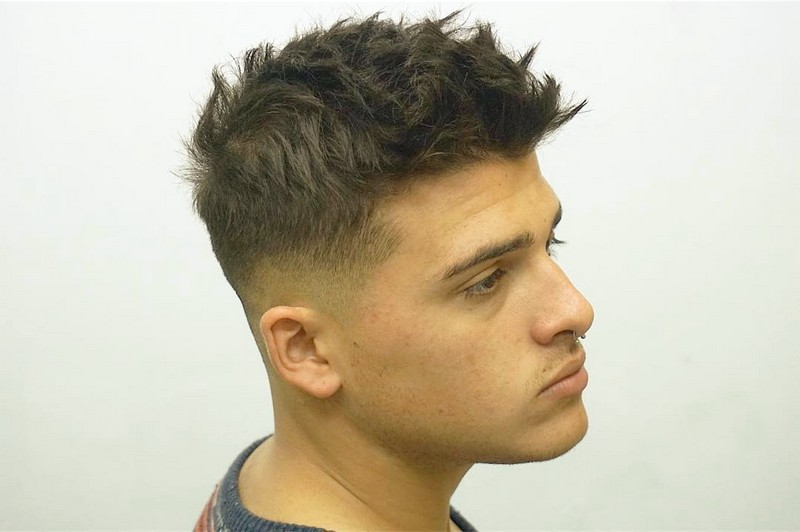 Messy-Textured-MenS-Hairstyle Messy Textured Men'S Hairstyle