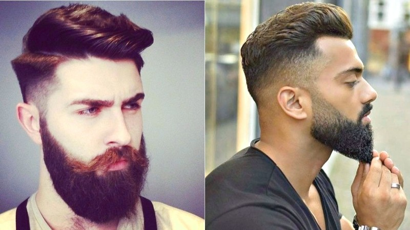 New-MenS-Hairstyle-With-Beard New Men'S Hairstyle With Beard