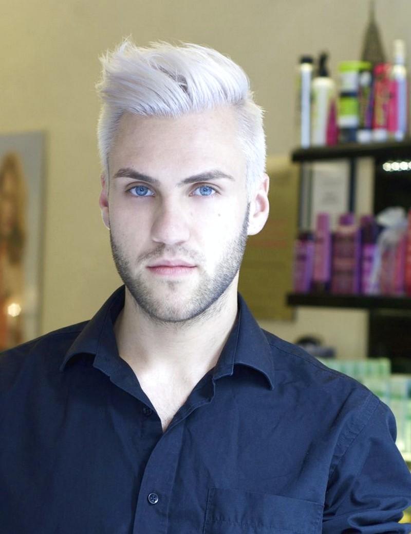 Platinum-Hair-MenS-Style Platinum Hair Men'S Style