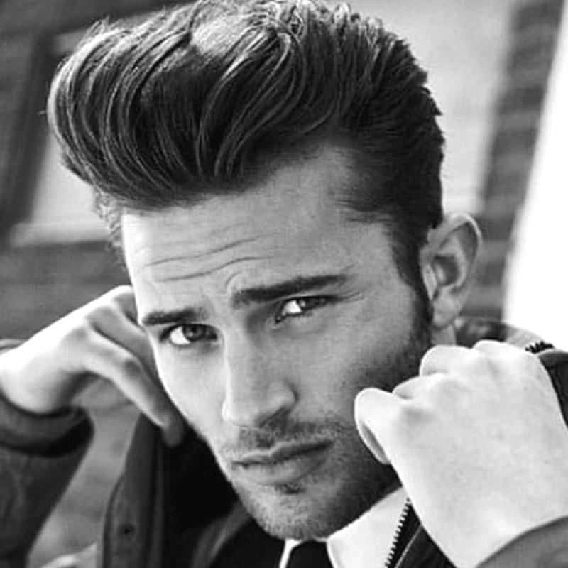 Pompadour-MenS-Hairstyle Pompadour Men'S Hairstyle