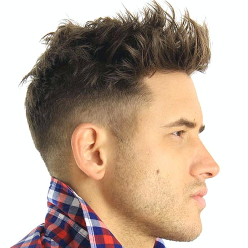 Short-Quiff-MenS-Hairstyle Short Quiff Men'S Hairstyle