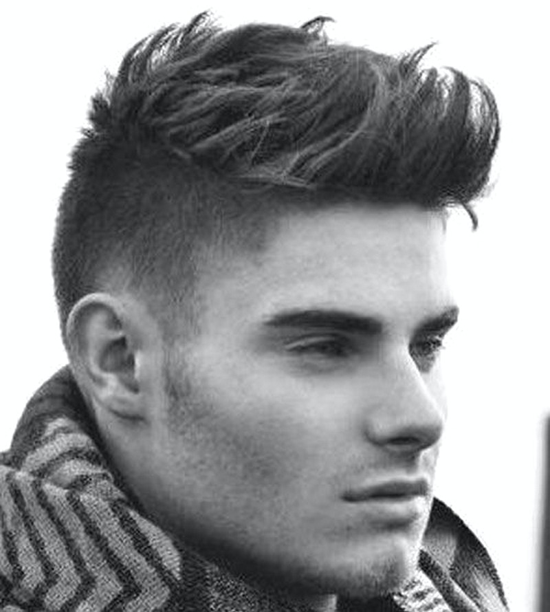 Short-Sides-Longer-Top-MenS-Hairstyle Short Sides Longer Top Men'S Hairstyle